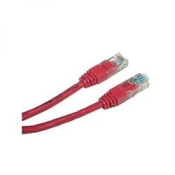 UTP patchcord UTP patchcord, Cat.5e, RJ45 M-3m, nieekranowany, czerwony, economy