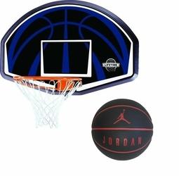 Tablica do koszykówki obręcz Lifetime Dallas 90065 + Piłka do koszykówki Jordan Ultimate 8P - Jki1205307