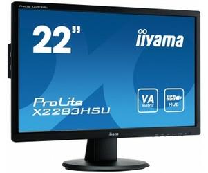 Monitor LED IIYAMA X2283HSU-B1DP 22 DisplayPort - Szybka dostawa lub możliwość odbioru w 39 miastach