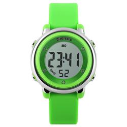Zegarek dziecięcy DATOWNIK LED SKMEI 1100 - GREEN - GREEN