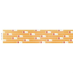 Ozdobne scrapy 30,5x5,2 cm - OŁÓWKI 04 - 04