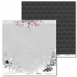 Papier świąteczny Shabby Winter 30,5x30,5 cm - 01 - 01