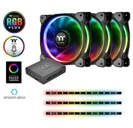 Thermaltake Wentylator Riing 12 RGB Plus Combo 3 szt.