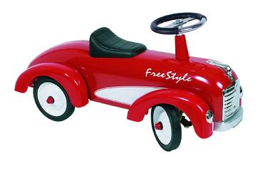 Jeździk do odpychania nóżkami - Goki Freestyle Czerwone