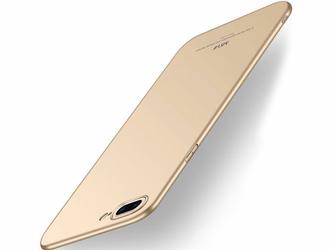 Etui MSVII Thin Case do Apple iPhone 8 Plus Złote + Szkło - Złoty