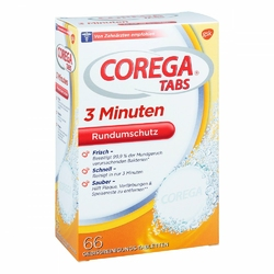 Corega Tabs 3 Minuten tabletki do czyszczenia protez