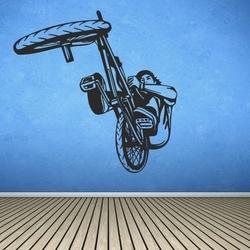 szablon malarski rower, bmx bk11