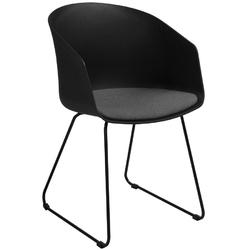 Krzesło Moonlight 3 czarneszare