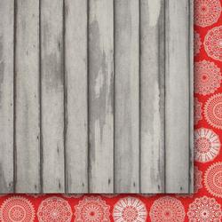 Świąteczny papier Wigilijne Drzewko 30,5x30,5cm 06 - 06