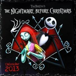 Nightmare Before Christmas - kalendarz 2013