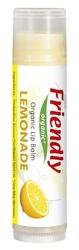 Friendly Organic, Organiczny balsam do ust, lemoniada, 4,25g