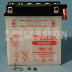 Akumulator Yumicron YUASA YB5L-B 1110108 Yamaha XT 600, Suzuki DR 600, Hercules SR 125