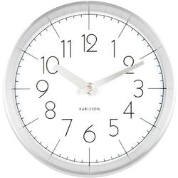 Zegar ścienny Convex 22cm Karlsson biały KA5637WH