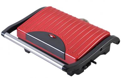 Aigostar Grill Elektryczny Panini Maker 700W Czerwony 200251