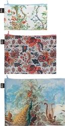 Saszetki Zip Pockets 3 szt. LOQI x MAD Chinese Decor, Indian, Brazil