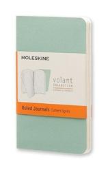 Zeszyty Moleskine Volant 2 szt. XS w linie zielone