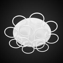 Altavola Design :: Plafon Ledowe Okręgi 12 biały in 3k