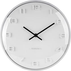 Zegar ścienny Elevated biały