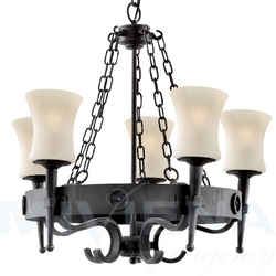 Cartwheel lampa wisząca 5 czarny