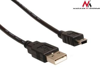 Maclean Kabel USB 2.0 wtyk-wtyk mini 3m MCTV-749