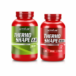 ACTIVLAB Thermo Shape 2.0 180 caps. + Thermo Shape Man - 120 caps.