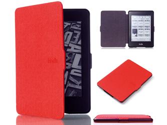 Etui Alogy Smart Case do Kindle Paperwhite 123 Czerwone - Czerwony