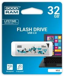 GOODRAM CLCK  32GB USB2.0 WHITE