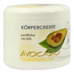 Avocado Koerpercreme Q10