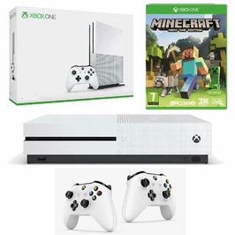 Konsola Xbox One S 1TB + 2 Pady + Minecraft