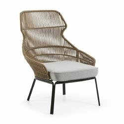 Fotel Rizz beżowy - beżowy
