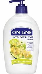 On Line Lipa i biała herbata mydło w płynie, 500ml