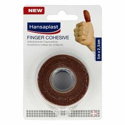 Hansaplast Fingerverb.selbsthaft.2,5 cmx5 m hautfarben