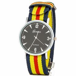 Zegarek nylonowy żółty - żółty