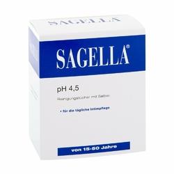 Sagella pH 4,5 chusteczki do higieny intymnej