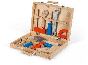 DREWNIANA WALIZECZKA z narzędziami Brico