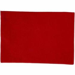 Dekoracyjny filc A4 - czerwony - CZE