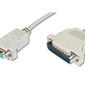ASSMANN Kabel połączeniowy LPT Typ DSUB25DSUB9 MŻ beżowy 3m