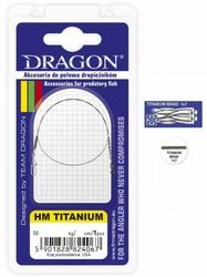 Przypon spinningowy HM Titanium DRAGON 7kg  40cm