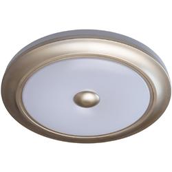 Plafon do sypialni okrągły biało-złoty ze zdalnym sterowaniem MW-LIGHT Techno 688010301