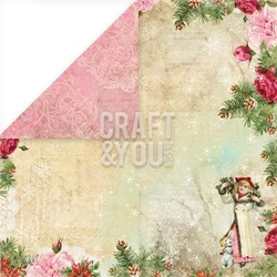 Papier ozdobny 30,5x30,5 Christmas Story - 05 - 05