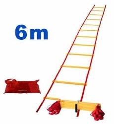 Drabinka koordynacyjna, treningowa Yakimasport PRO 6 m.