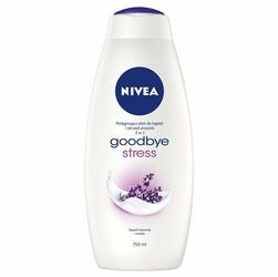 Nivea Goodbye Stress 2 w 1, Pielęgnujący płyn do kąpieli i żel pod prysznic, 750 ml