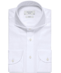 Elegancka biała koszula męska Profuomo Imperial Oxford  43