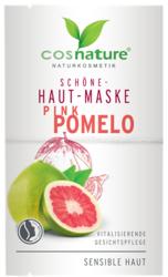 Naturalna upiększająca maska do twarzy z różowym pomelo 2x8ml