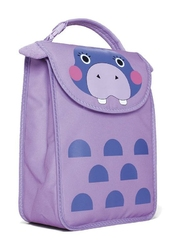 Torba na lunch Big Apple Buddies Lunch Sack Hippo