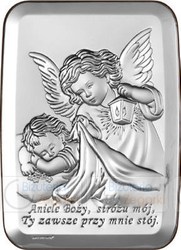 Obrazek BC64413 Anioł Stróż 13x18 cm