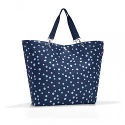Torba Shopper XL Spots Navy Reisenthel