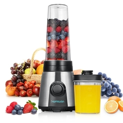 Blender HAMSWAN Mix  Go KP1506  2 butelki 300 ml i 600 ml  300 W