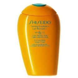 Shiseido Tanning Emulsion SPF6 W samoopalacz do ciała i twarzy 150ml