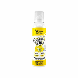 Sport Definition Cooking Oil Spray 170ml Olej rzepakowy